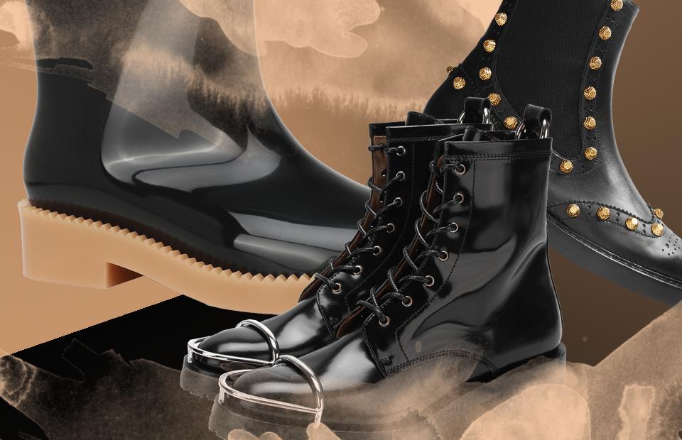 0154f616 Обувь, в которой не страшен весенний потоп :: Вещи :: РБК.Стиль