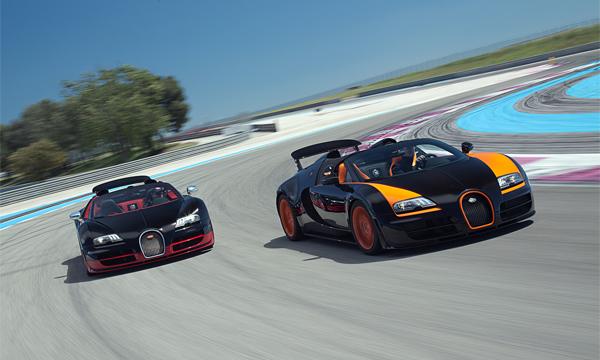 Bugatti выпустит новую модель в 2016 году