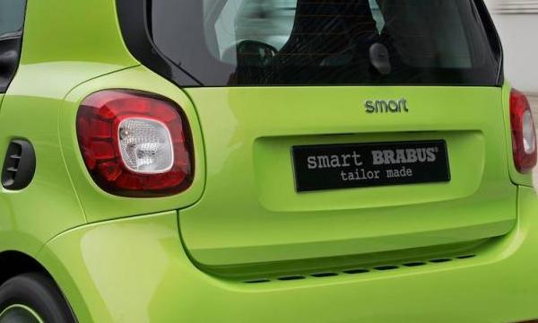 Smart показал «заряженную» версию Fortwo