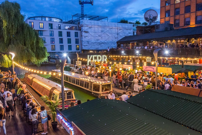 Camden Market в Лондоне