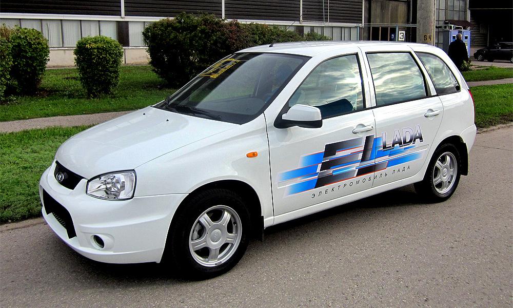 Первые электрокары Lada отправились к дилерам
