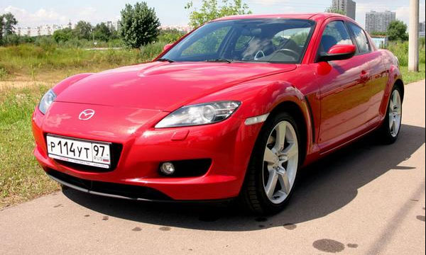 17 литров в Городе - аппетит роторной Mazda RX-8