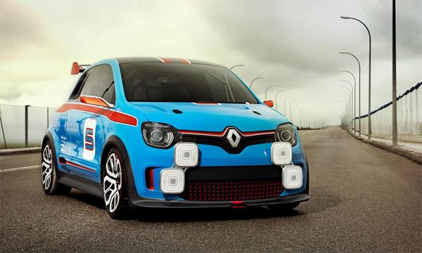 Renault рассекретил заднеприводный хэтчбек Twin'Run
