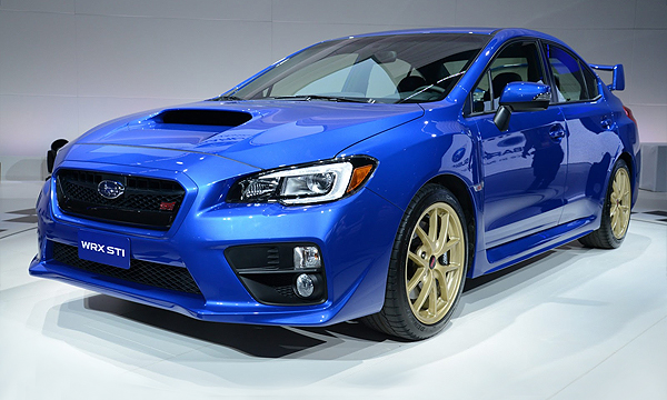Subaru представила новую WRX STI