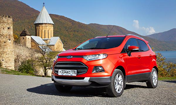 Ford начал сборку кроссовера EcoSport в России