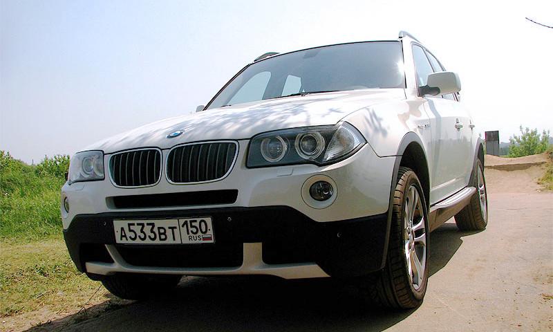BMW X3 – автомобиль для мускулистых леди