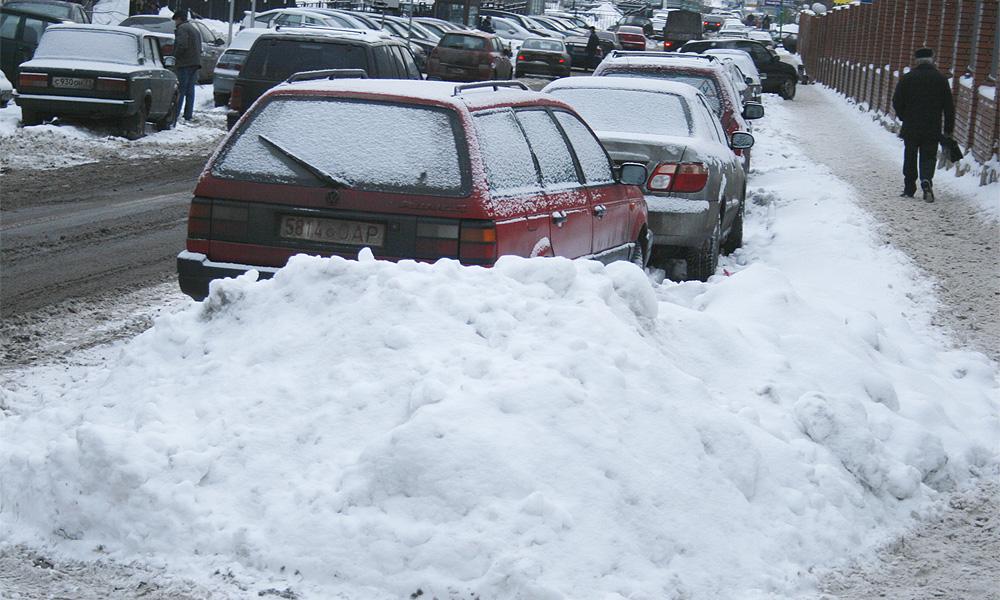 В Москве опять ожидается снегопад