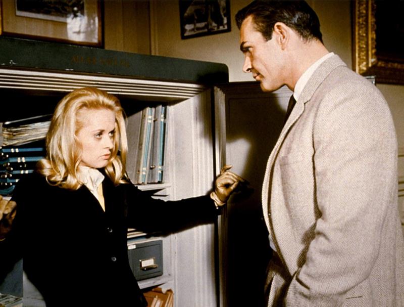 Кадр из фильма «Марни»