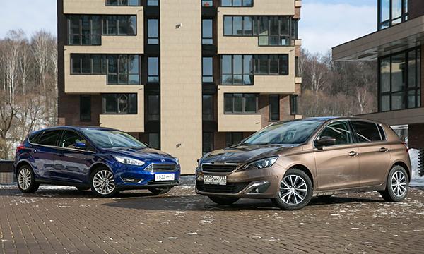 Потерянный класс. Тест-драйв Peugeot 308 и Ford Focus
