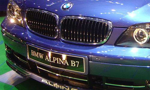 BMW привезет в Женеву Alpina B7
