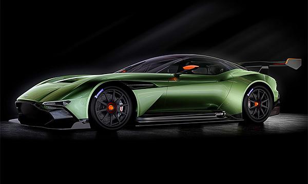 Aston Martin показал трековый спорткар Vulkan до премьеры
