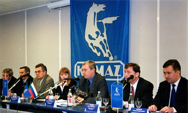 Совет директоров КАМАЗа утвердил бизнес-план компании на 2006г.