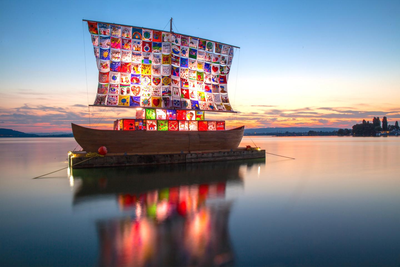 Илья и Эмилия Кабаковы, «The Ship of Tolerance» («Корабль толерантности»), Цуг, Швейцария