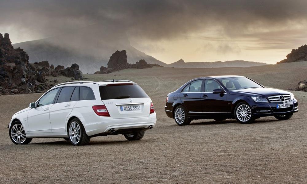 Mercedes-Benz показал обновленный C-Class 2012