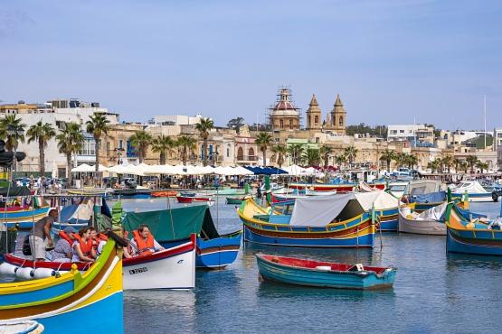 Бухта городаМарсашлокк, Мальта