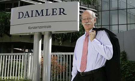 Дитер Цетше останется руководителем концерна  Daimler AG еще на три года