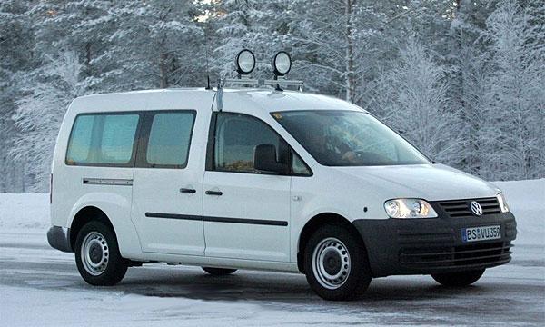 Volkswagen Caddy получил третий ряд сидений