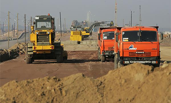 В Новой Москве начали строить дублер МКАД
