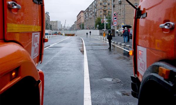 Алабяно-Балтийский тоннель закрыли из-за подтопления