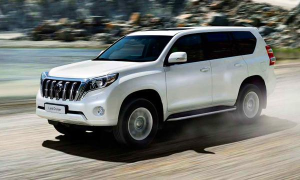 Toyota начала продажи в России обновленного Land Cruiser Prado
