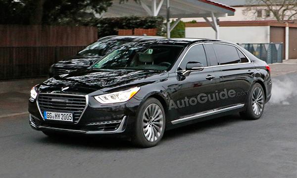 Genesis G90 превратят в лимузин