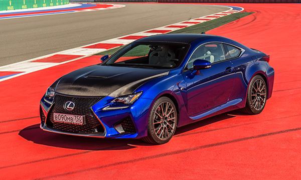 Воркаут со звуком. Тест-драйв Lexus RC F и GS F