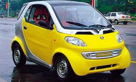 Китайцам запретили производить двойника Smart