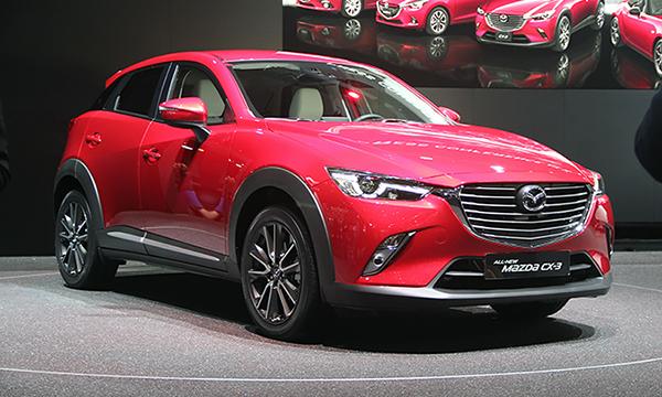 Mazda привезла в Женеву самый маленький кроссовер