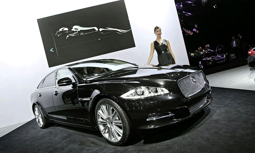 Jaguar провел во Франкфурте публичную премьеру XJ 2010