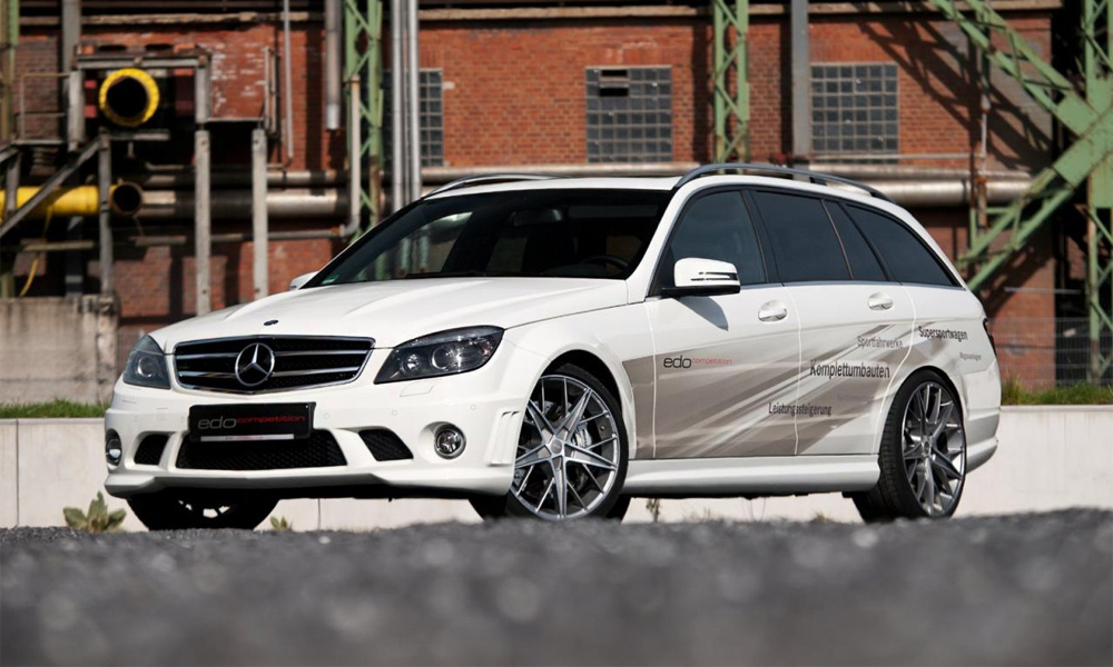 Mercedes C63 AMG Wagon by Edo Competition