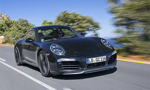 Рассекречена моторная гамма обновленного Porsche 911  Carrera