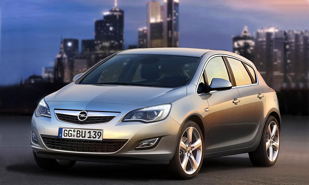 Рассекреченная Opel Astra 2010 появится осенью