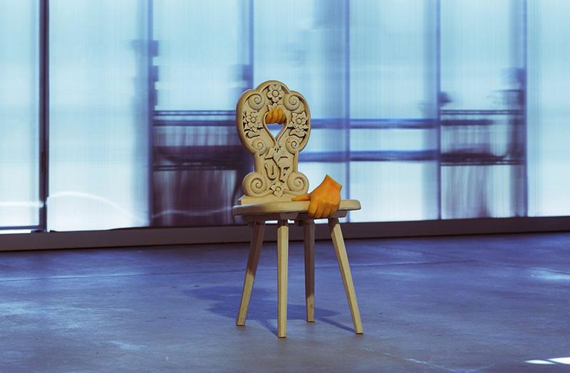 Скульптура Урса Фишера в «Гараже»