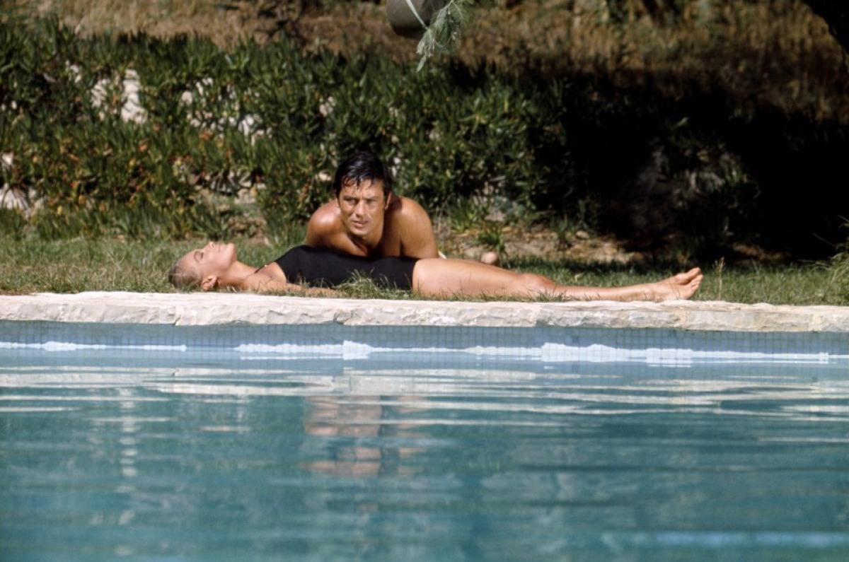 Кадр из фильма «Бассейна», 1969 г.
