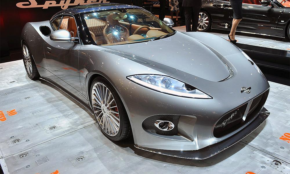 Чудеса Женевы: Spyker B6 Venator