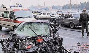 В результате крупной аварии на МКАД погиб один человек