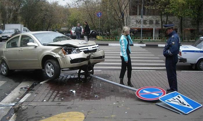 ГИБДД назвала самые опасные перекрестки Москвы