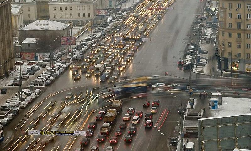 По мнению москвичей, транспортная проблема решится через 5-10 лет