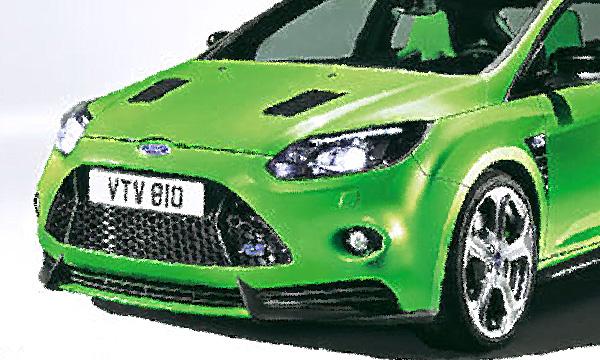 Новый Ford Focus RS станет мощнее