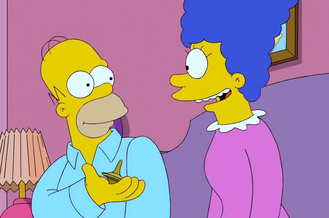 Кадр из анимационного фильма «Симпсоны»