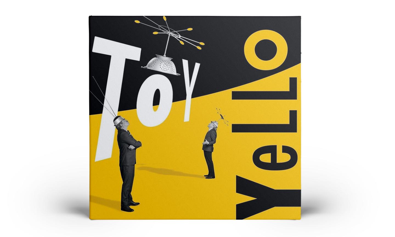 Обложка нового альбома «Toy» группы Yello