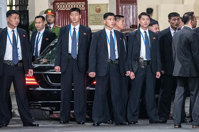 Телохранители Ким Чен Ына