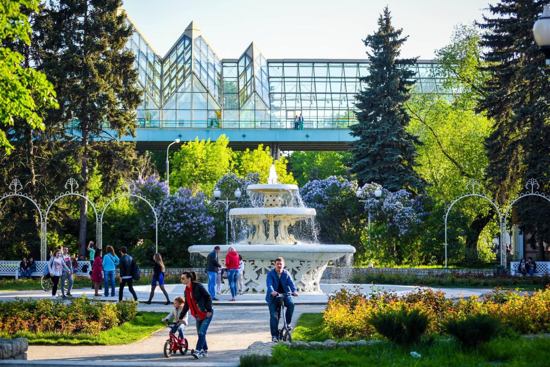Парке Горького