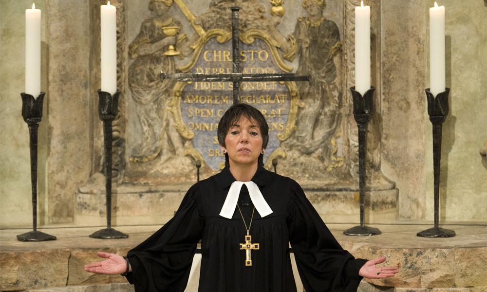 Председатель Евангелической церкви Германии епископ Маргот Кессман