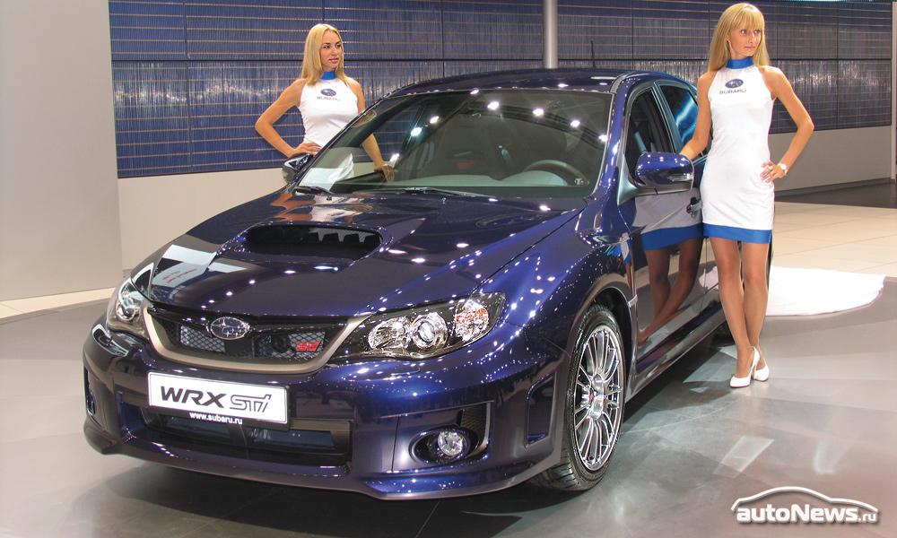 В Москве показали самую быструю Subaru WRX STI