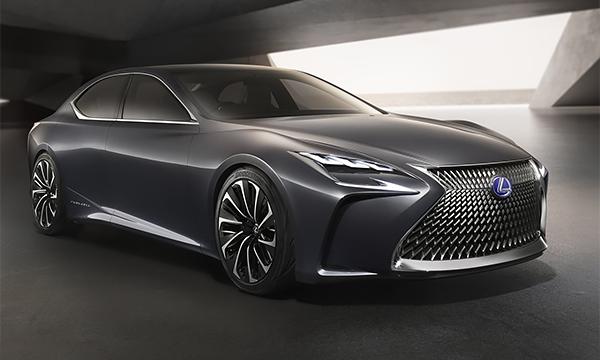 Lexus LS нового поколения представят в 2017 году