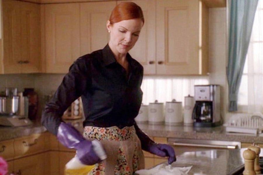 Кадр из сериала «Отчаянные домохозяйки»