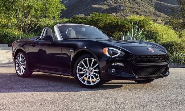 Fiat показал в Лос-Анджелесе свой новый родстер