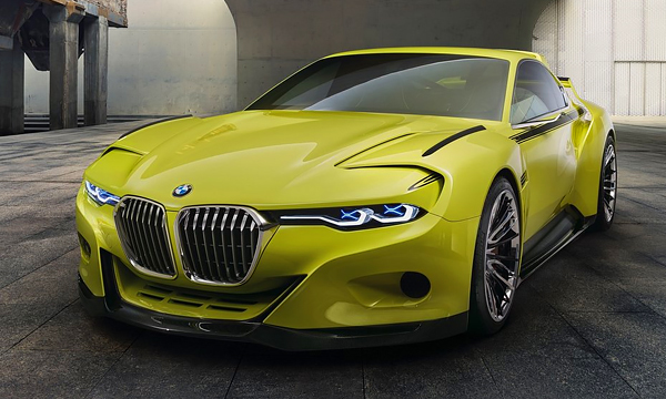 BMW построила шоу-кар на новой платформе
