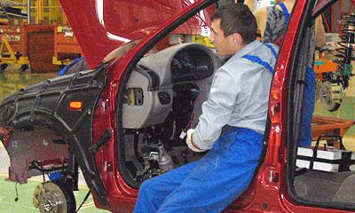 Объем производства АВТОВАЗа в I квартале 2006 г. вырос